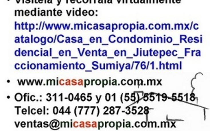 Foto de casa en venta en  , sumiya, jiutepec, morelos, 1095843 No. 23