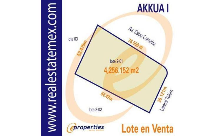 Foto de terreno habitacional en venta en  , supermanzana 14, benito ju?rez, quintana roo, 1115533 No. 01