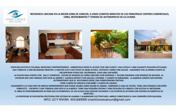 Foto de casa en venta en  , supermanzana 17, benito juárez, quintana roo, 1904360 No. 02