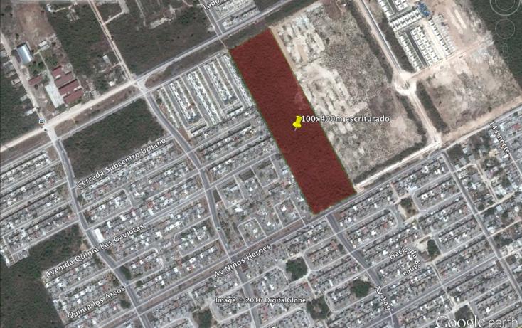 Foto de terreno habitacional en venta en  , supermanzana 200, benito ju?rez, quintana roo, 1737528 No. 03