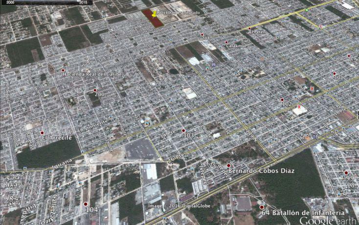 Foto de terreno habitacional en venta en, supermanzana 200, benito juárez, quintana roo, 1737528 no 04