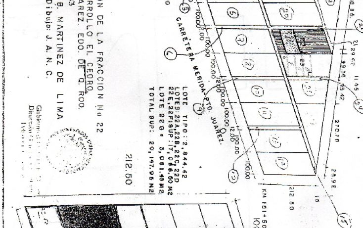 Foto de terreno habitacional en venta en, supermanzana 22 centro, benito juárez, quintana roo, 1064875 no 02