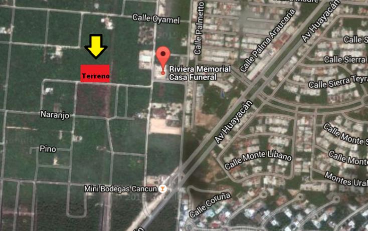 Foto de terreno habitacional en venta en  , supermanzana 312, benito juárez, quintana roo, 2030724 No. 03