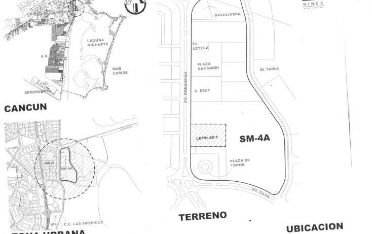 Foto de terreno comercial en venta en  , supermanzana 4 a, benito juárez, quintana roo, 1265765 No. 02