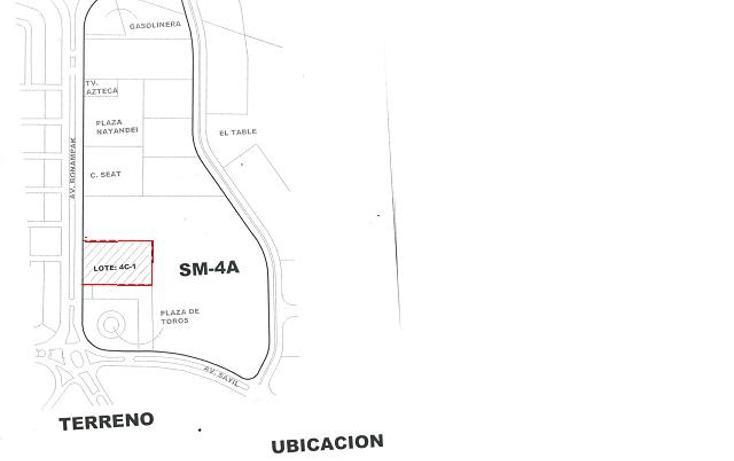 Foto de terreno comercial en venta en  , supermanzana 4 a, benito juárez, quintana roo, 1265765 No. 03