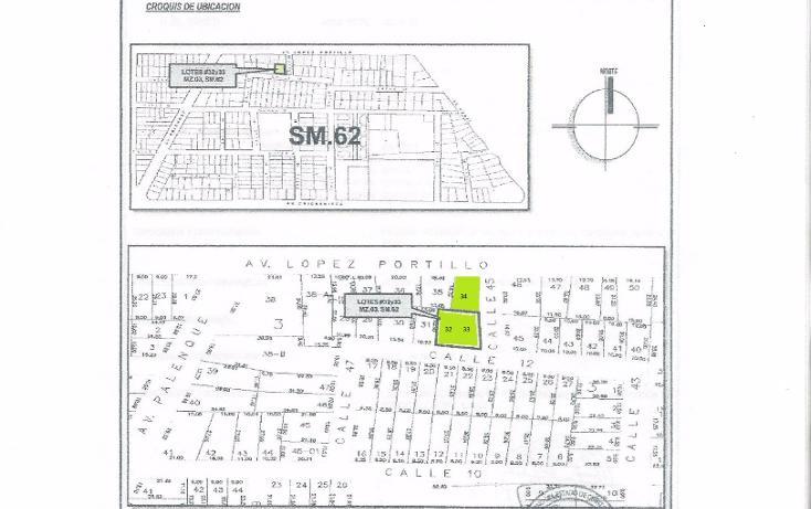 Foto de terreno comercial en venta en  , supermanzana 62, benito juárez, quintana roo, 1477891 No. 12
