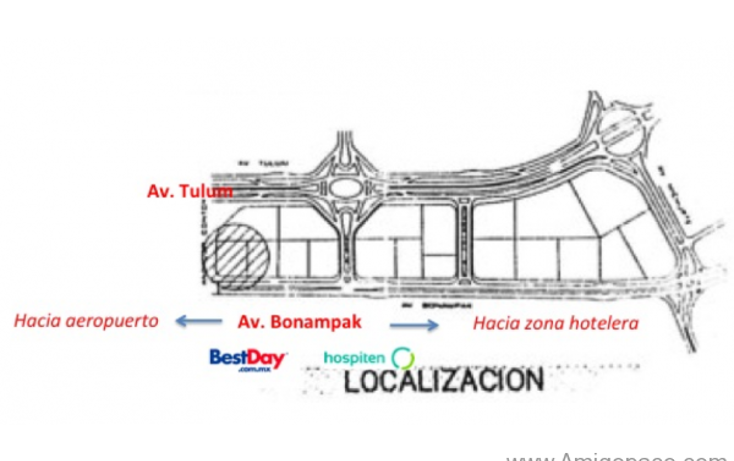 Foto de terreno comercial en venta en  , supermanzana 8, benito juárez, quintana roo, 1856988 No. 03
