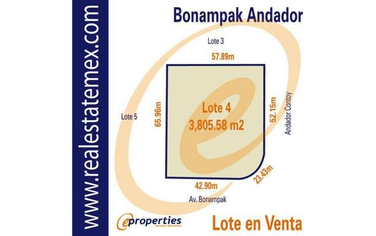 Foto de terreno habitacional en venta en  , supermanzana 9, benito ju?rez, quintana roo, 1515066 No. 01