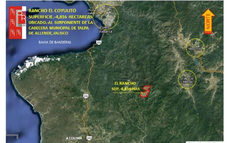 Foto de rancho en venta en sur poniente del municipio , talpa de allende centro, talpa de allende, jalisco, 3417255 No. 01