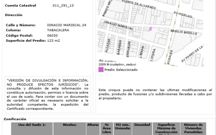 Foto de edificio en venta en, tabacalera, cuauhtémoc, df, 1815680 no 02