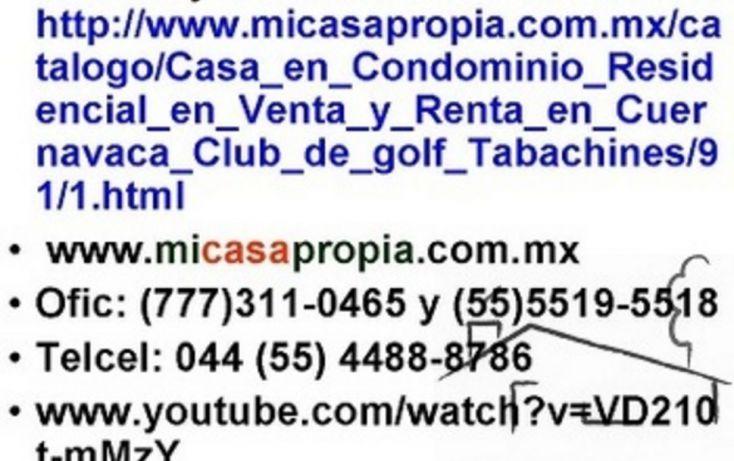 Foto de casa en condominio en venta en, tabachines, cuernavaca, morelos, 1076529 no 08