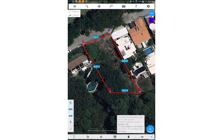 Foto de terreno habitacional en venta en  , tabachines, cuernavaca, morelos, 1684344 No. 01