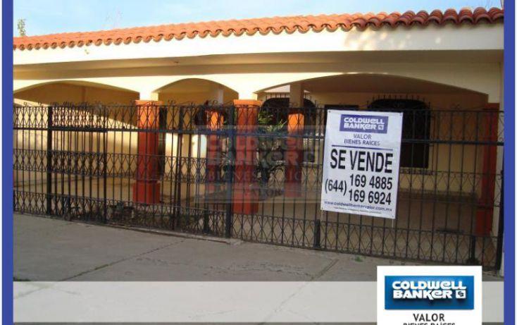 Foto de casa en venta en tabasco 712, ciudad obregón centro fundo legal, cajeme, sonora, 1178327 no 01