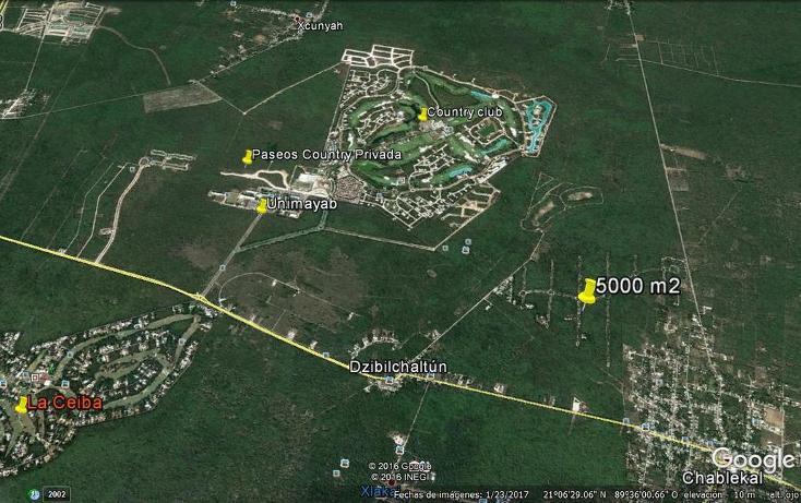 Foto de terreno habitacional en venta en tablaje 32711 , dzibilchaltún, mérida, yucatán, 3423694 No. 12