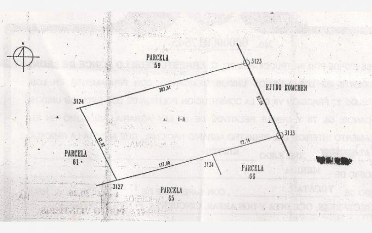 Foto de terreno habitacional en venta en tablaje 34646, cheuman, mérida, yucatán, 1422595 no 02