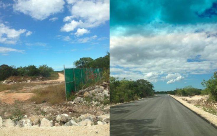 Foto de terreno habitacional en venta en tablaje 34646, cheuman, mérida, yucatán, 1422595 no 04