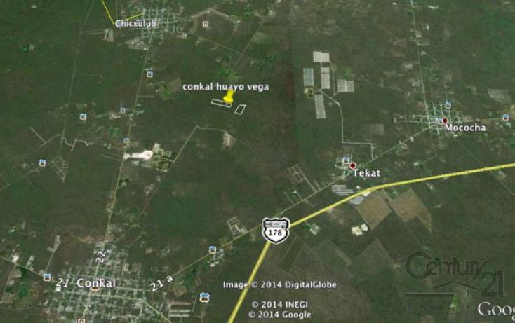 Foto de terreno habitacional en venta en tablaje rustico, conkal, conkal, yucatán, 1719206 no 02