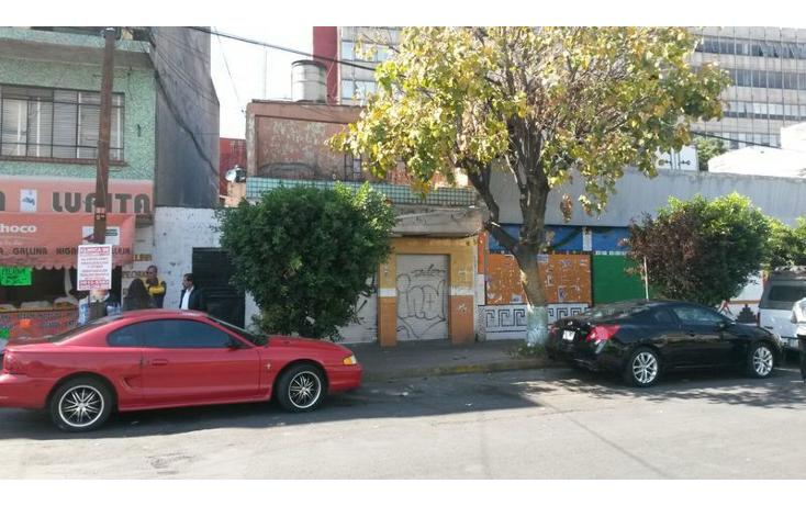 Foto de terreno habitacional en venta en  , tacubaya, miguel hidalgo, distrito federal, 1640515 No. 01
