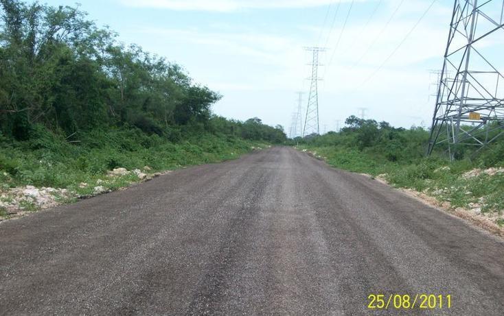Foto de terreno habitacional en venta en  , tahdzibichén, mérida, yucatán, 456381 No. 06