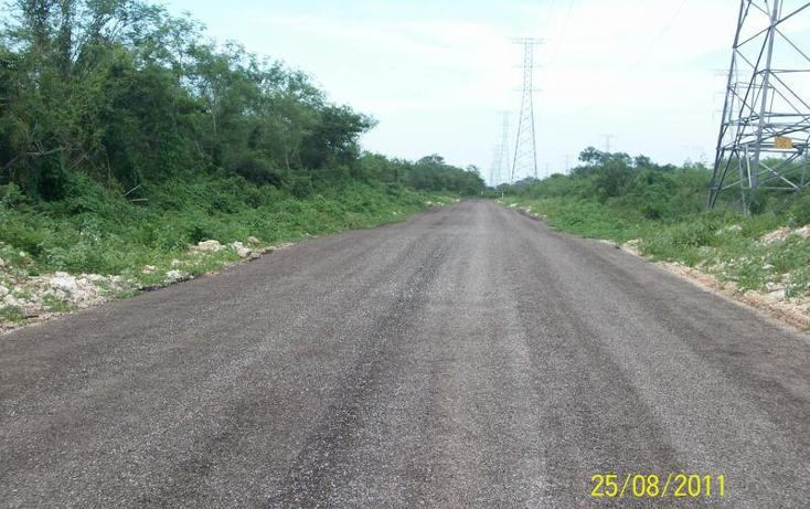 Foto de terreno habitacional en venta en  , tahdzibichén, mérida, yucatán, 456381 No. 07