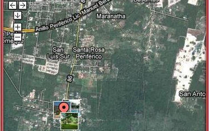 Foto de terreno habitacional en venta en  , tahdzibichén, mérida, yucatán, 456382 No. 01
