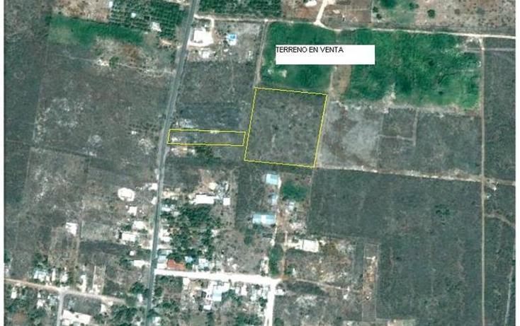 Foto de terreno habitacional en venta en  , tahdzibichén, mérida, yucatán, 456382 No. 04
