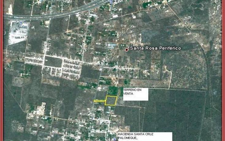 Foto de terreno habitacional en venta en  , tahdzibichén, mérida, yucatán, 456382 No. 06