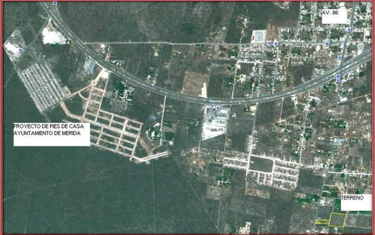 Foto de terreno habitacional en venta en  , tahdzibichén, mérida, yucatán, 456382 No. 07
