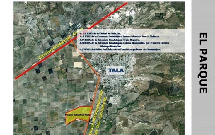Foto de terreno industrial en venta en  , tala, tala, jalisco, 388799 No. 12