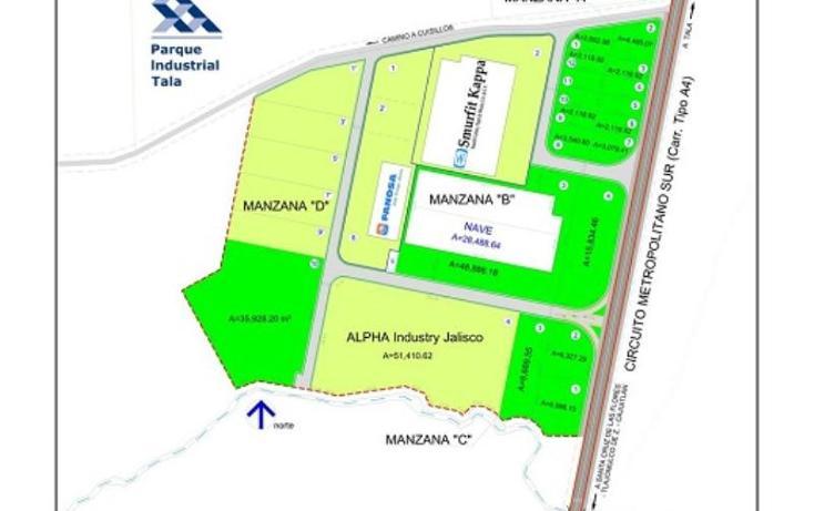 Foto de terreno industrial en venta en  , tala, tala, jalisco, 388842 No. 10