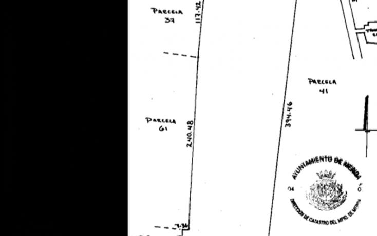 Foto de terreno habitacional en venta en, tamanché, mérida, yucatán, 1071183 no 01