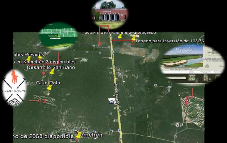Foto de terreno habitacional en venta en, tamanché, mérida, yucatán, 1071183 no 02