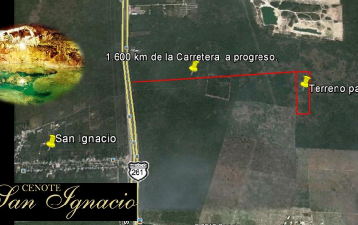 Foto de terreno habitacional en venta en, tamanché, mérida, yucatán, 1071183 no 03