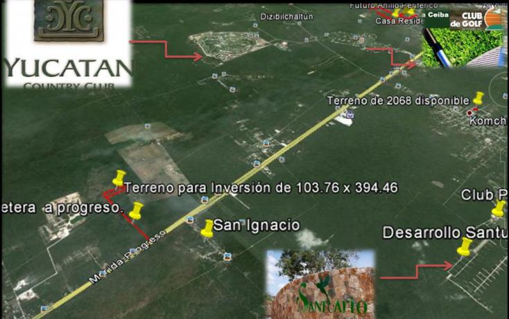 Foto de terreno habitacional en venta en, tamanché, mérida, yucatán, 1071183 no 04
