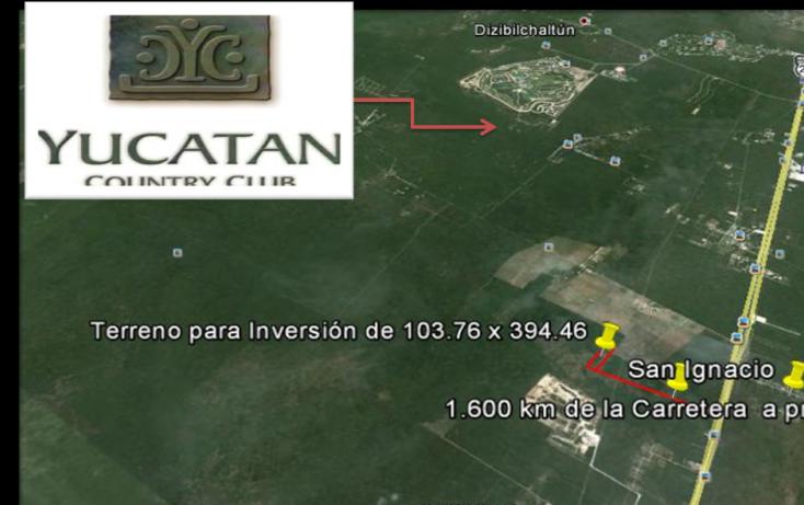 Foto de terreno habitacional en venta en, tamanché, mérida, yucatán, 1071183 no 05