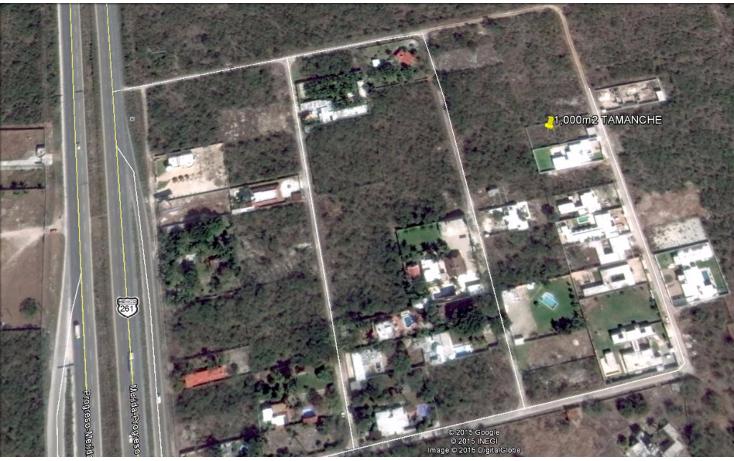Foto de terreno habitacional en venta en  , tamanché, mérida, yucatán, 1099371 No. 02