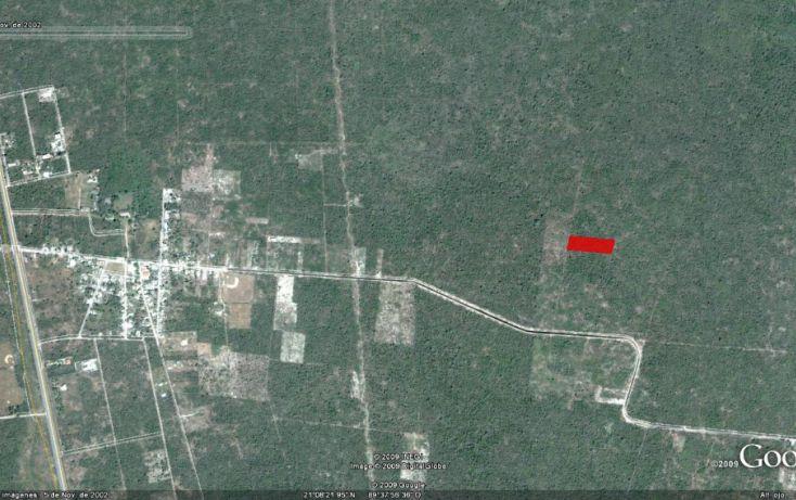 Foto de terreno habitacional en venta en, tamanché, mérida, yucatán, 1138511 no 02
