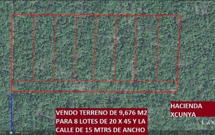 Foto de terreno habitacional en venta en, tamanché, mérida, yucatán, 1175951 no 02
