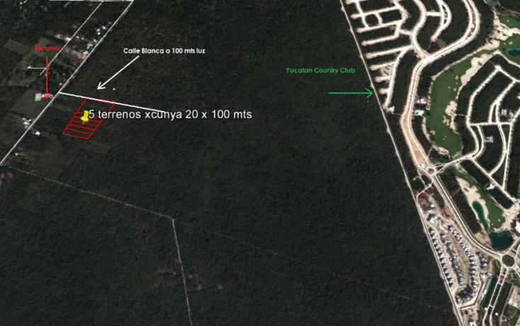 Foto de terreno habitacional en venta en, tamanché, mérida, yucatán, 1239955 no 03