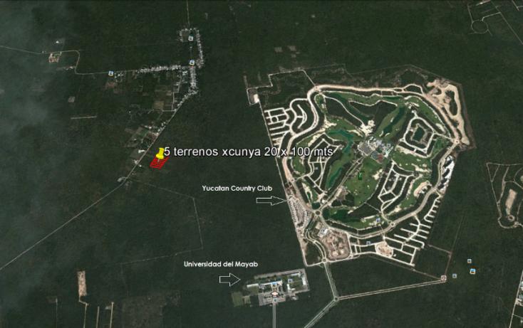 Foto de terreno habitacional en venta en, tamanché, mérida, yucatán, 1239955 no 04