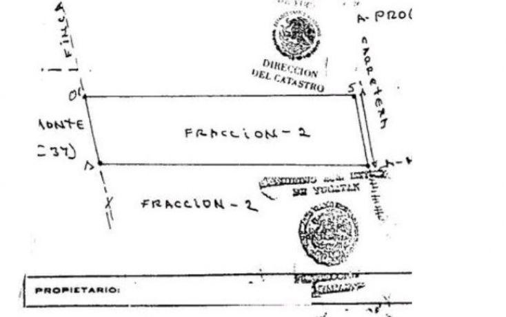 Foto de terreno comercial en venta en, tamanché, mérida, yucatán, 1396421 no 03