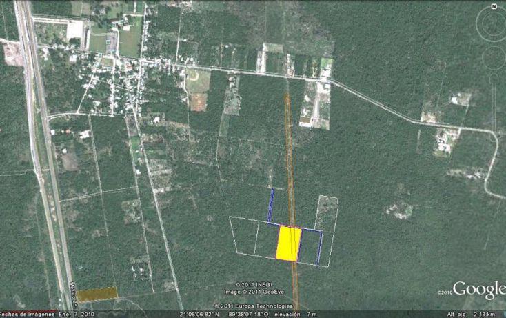 Foto de terreno habitacional en venta en, tamanché, mérida, yucatán, 1601000 no 01