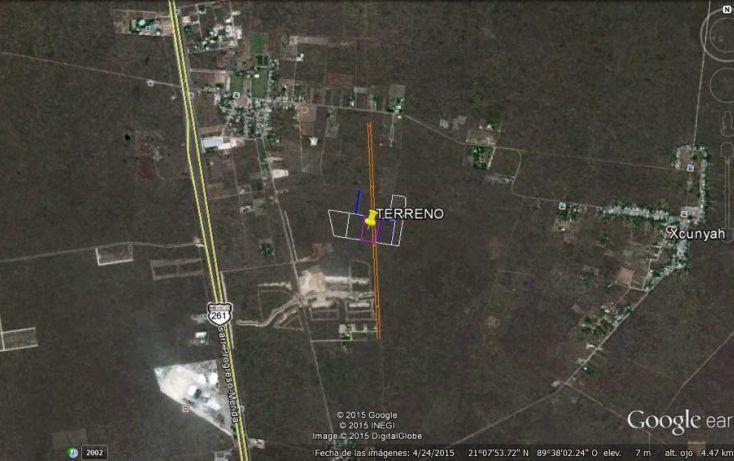 Foto de terreno habitacional en venta en, tamanché, mérida, yucatán, 1601000 no 02