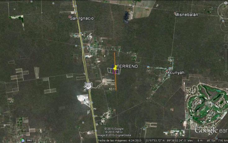 Foto de terreno habitacional en venta en, tamanché, mérida, yucatán, 1601000 no 03