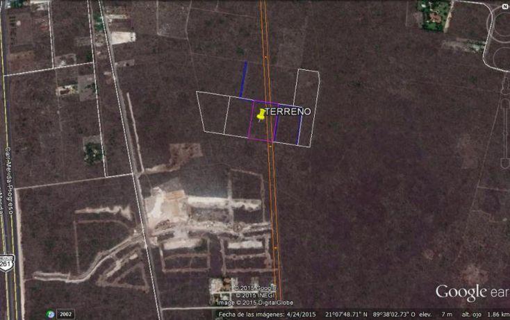 Foto de terreno habitacional en venta en, tamanché, mérida, yucatán, 1601000 no 04