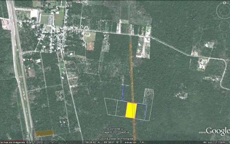 Foto de terreno habitacional en venta en, tamanché, mérida, yucatán, 1668200 no 02