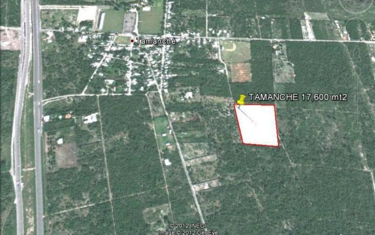 Foto de terreno habitacional en venta en  , tamanché, mérida, yucatán, 448043 No. 01