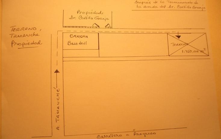 Foto de terreno habitacional en venta en  , tamanché, mérida, yucatán, 448043 No. 02