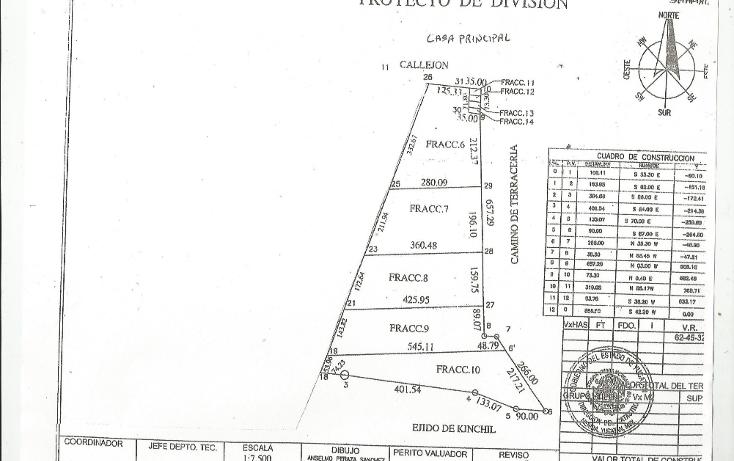 Foto de terreno habitacional en venta en  , tamchen, kinchil, yucatán, 1162299 No. 02