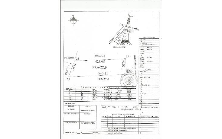 Foto de terreno habitacional en venta en  , tamchen, kinchil, yucatán, 1162299 No. 03